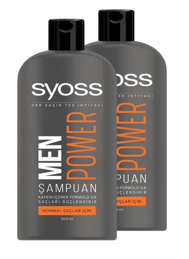 Syoss Syoss Men Power Şampuan 550 Ml X 2 Adet Renksiz